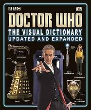 Doctor Who The Visual Dictionary  BOOK NEW