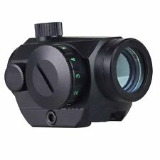 Tactical Holographic Rifle Red Green Dot Sight Scope 20mm Picatinny Rail Mount