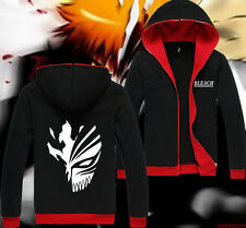 JP Anime Bleach Kurosaki Ichigo Sweatshirt Casual Clothing Hoodie Coat M-XXL #1T