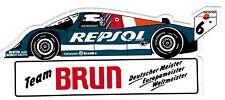 Team Brun Porsche REPSOL Nr. 6  Weltmeister  Sticker Aufkleber