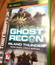 GHOST RECON ;  ISLAND  THUNDER---XBOX GAME