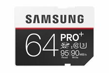 Samsung PRO+ MB-SD64D (64GB) SDXC Class 10 UHS-I Memory Card
