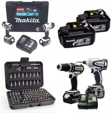 Makita 18v Twin Pack dlx2020sw * Completo LXT x2 Heavy Duty 3.0 batterys *