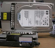 HP 300GB Wide ULtra320 SCSI HD model: BD3008A4C6 With Caddy