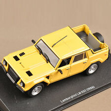 1/43 Scale Diecast Car Model IXO Lamborghini LM 002 (1986) Minicar Collection
