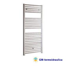 Termoarredo Scaldasalviette Calorifero Bianco Design Dritto Toso MYA 500x1200