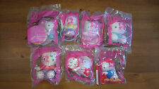 McDonalds Sanrio 2004 Happy Meal Hello Kitty Set of 7 New