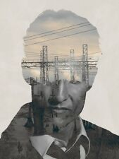 POSTER TRUE DETECTIVE MATTHEW McCONAUGHEY WOODY HARRELSON RUST COHLE SERIE TV #7