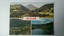 County Wicklow Ireland  1962 colour  postcard