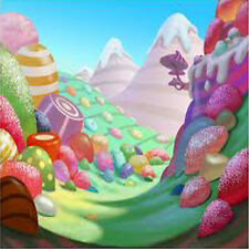 Pro Stroke Painting Scenic Candyland 10'x20' Muslin Photo Backdrop Background