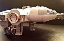 Star Wars ANH POTF Electronic Light & Sound Millennium Falcon Han Solo's Vehicle
