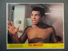 GREATEST 8 8x10 mini LCs '77 great images of heavyweight boxing champ ALI.