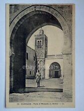 KAIROUAN Qayrawan Tunisia Mosques du Barbier vecchia cartolina