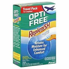 Opti-Free RepleniSH Multi-Purpose Disinfecting Solution Travel Pack 4oz Each