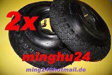 2 Reifen 3.00-4 + Schlauch 3.00-4 Karren Reifen 260x85 + Schlauch 260x85 4PR