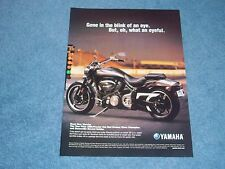 "2004 Yamaha Road Star Warrior Motorcycle Ad ""Gone in a Blink of an Eye."""