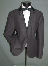 Superb Armani Exchange two Buttons Center Vent Men Tuxedo Jacket 44 L