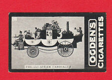 TRANSPORT  -  OGDENS  -  RARE  COACH  CARD  -  1828  STEAM  CARRIAGE  -  1902