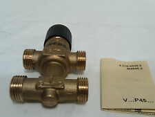 Siemens VMP45.10-0.4  3-Port Seat Valve With Bypass  External Thread PN16 DN10