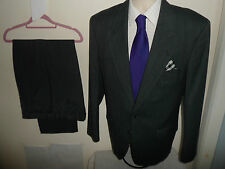 40R CENTAUR Mens Wool Single Breasted 2 Piece Suit 40R W34 L29 - CLEARANCE SALE