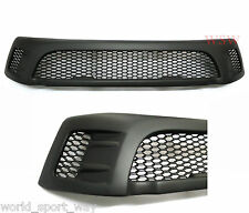 BLACK FRONT GRILL GRILLE TRD STYLE FOR NEW TOYOTA HILUX SR5 REVO M70 M80 15 16+