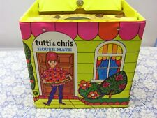 Vintage Barbie Doll TUTTI CHRIS TODD PLAY HOUSE CASE Brand New NRFB MIB MIP MOC