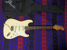 1984-7 Fender Japan E SERIAL Stratocaster VWH White MIJ NICE amazing guitar jv