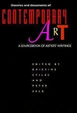 Theories and Documents of Contemporary Art: A Sourcebook of Artists' Writings (C