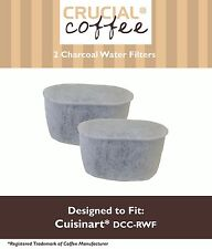 2PK Cuisinart CHW-12 CoffeePlus Replacement Water Filter Replaces DCC-RWF-1