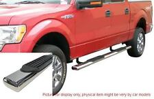 "FORD F150 2009-2013 EXTENDED CAB 4"" STAINLESS SIDE STEP NERF BAR RUNNING BOARD"