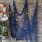 Fishing Nautical Seaside Balloon Net Shell Scene Wall Party Decoration Beach U40