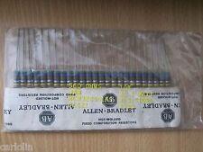 Allen Bradley 560 Ohm 1W Carbon Comp Resistors 25 pcs New NOS U.S. Seller!!!