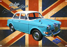 CLASSIC BRITISH RILEY ONE POINT FIVE METAL SIGN