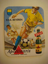 Beer Bar Coaster ~*~ APOLLINARIS Sparkling Mineral Water ~ GERMANY ~ KSK Beveren