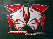 Aprilia DORSODURO 750 2008 rosso - adesivi/adhesives/stickers/decal