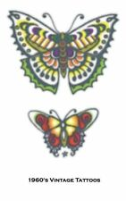 Henna Fake TATTOO VINTAGE butterflies(3 in package) adult only VERY REALASTIC!!!