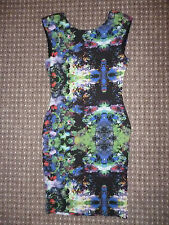 LADIES H&M FLORAL PRINTED DRESS SIZE XS NEW WITHOUT TAGS
