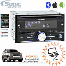 Pioneer FH-X730BS Double DIN Bluetooth CD/Multimedia Car Stereo for 2005-10 Ford