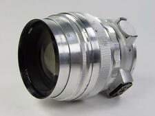 1966 made !! Early silver Helios 40 1.5/85mm M42 M39. Kit. s/n 661411.