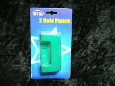 Star 2 Hole Punch Metallic Green Metal WSR1005 Blister Packed 8 sheets