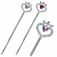 Pink Poppy Lovely Heart Princess Fairy Gem Wand Dressing Up Pretend Play