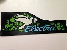 Electra Bicycle Company - Dove Electra - Bicycle Sticker Decal