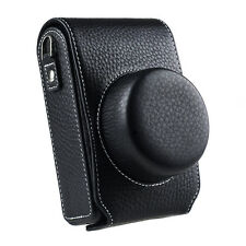 Leather Camera Carry Cover Bag Protective Case for Leica D-Lux Type 109 Black