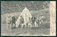 Aosta Valsavaranche Savoia cartolina QQ6203