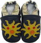 shoeszoo (carozoo) new soft sole leather infant baby shoes sea monster 0-6m