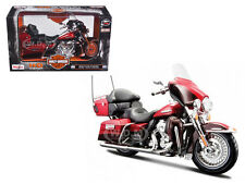 2013 HARLEY DAVIDSON FLHTK ELECTRA GLIDE ULTRA LIMITED RED 1/12 BY MAISTO 32323