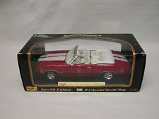 1/18 1972 Chevrolet Chevelle SS 454 Convertible  Diecast Car by Maisto