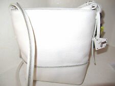 Botkier New York Genuine Pebbled Grain Pearl Leather Soho Crossbody NWT $268