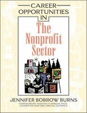 Career Opportunities in the Nonprofit Sector-ExLibrary