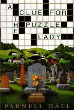 A Clue for the Puzzle Lady (Puzzle Lady Mysteries), Hall, Parnell, Good Book